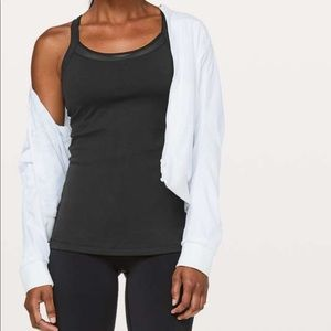 Lululemon Rally Your Heart Tank In Nocturnal Teal